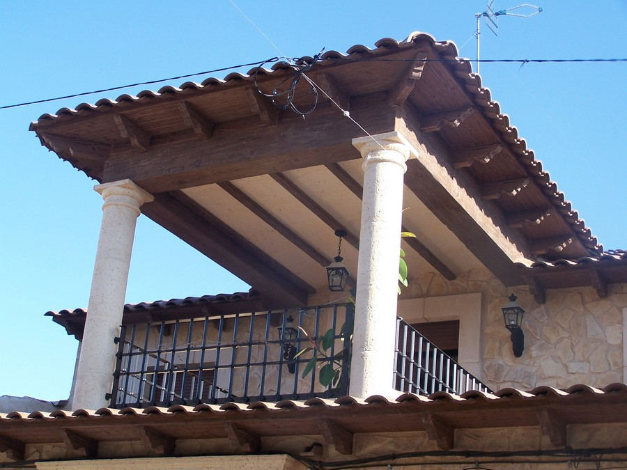 Imitaci n madera galer a de im genes cymavi s l - Imitacion madera para fachadas ...